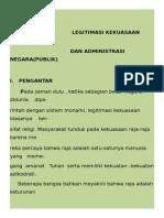 2. LEGITIMASI KEKUASAAN  BIROKRASI 2.docx