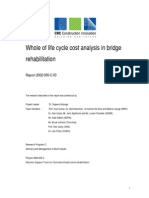 Whole of Life Cycle Cost Analysis in Bridge Rehabilitation