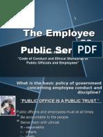 employee as public servant