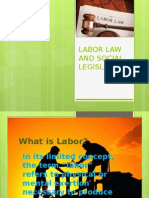 Labor law and Social Legislation