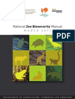 National Zoo Biosecurity Manual