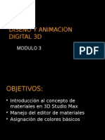 Diseño y Animacion Digital 3d
