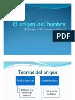 Tema Nro.1 El Origen Del Hombre