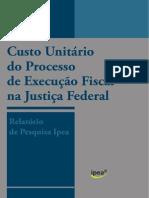 Pesquisa Ipea Cnj Custo Execucao Fiscal