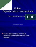 Hin Sejarah Hukum Internasional
