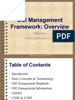MJ 13 OSI Management Overview