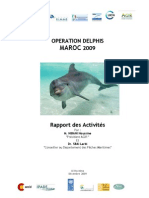 Operation Delphis Maroc 2009 Rapport Final