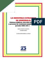 FLACSO - Armado - La Industria Extractiva y Su ImpactoŠ