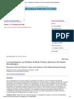 Psykhe (Santiago) - La Investigación con Relatos de Vida_ Pistas y Opciones del Diseño Metodológico