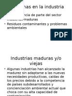 Problemas en La Industria