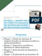 Bloque1 - Microprocesadores y perifericos