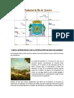 Fundación de Río de Janeiro - Carta Astral