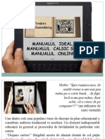 Manualul Clasic vs Manualul Online