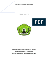 Modul Sistem Operasi Jaringan