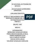 Acción antimicrobiana de soluciones de uso común en odontología