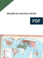 Religion as a Political Factor