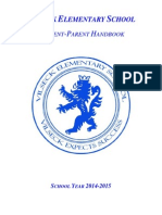 parent handbook 2014-2015