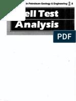 Well Test Analysis