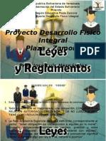 Aspectos Legales de La Educacion Fisica en Venezuela