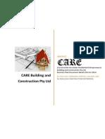 Care Build Construct Pty Ltd Business Plan