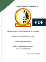 1.2 Tabla Comparativa de RUP y UML Mendoza