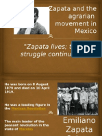Zapata and the Agrarian