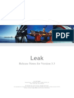 Leak ReleaseNotes
