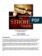 The Stroh Violin Documentation