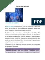 Acute and Chronic Renal disease