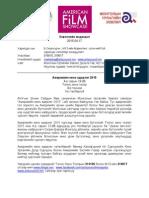AFS Press Release 20150406