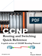 EIGRP routing Protocol CCNP