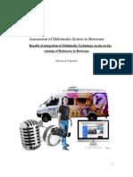 MSc in Multimedia research proposal