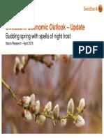 Swedbank Economic Outlook - Update, April 2015