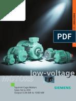 Technické Inforrmace Pro Motory Do 1000kW 2004 (Siemens)_en