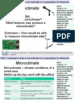Lesson 4 - Microclimates