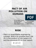 Impact of Air Pollution on Humans