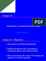 15 - Conceptual Database Design