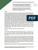 Kajian Komunitas Larva Ikan Pada Ekosistem Padang Lamun di Kawasan Pulau Parang, Karimunjawa, Jawa Tengah