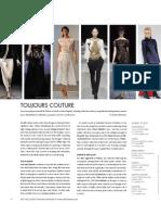 Fresh, Bold Haute Couture - Elite Traveler November 2009