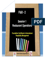Session 1 Restaurant Operations [Compatibility Mode]