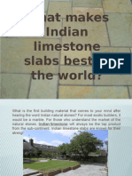 Indian Limestone Slabs