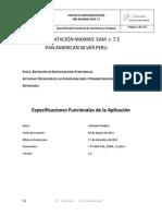 Documento Funcional de PAS