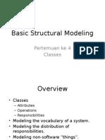 3. Basic Structural Modeling