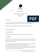 2005 Relatório Técnico do Banco do Livro (FEV-MAR-2005)