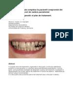 Reabilitarea Orala Complexa La Pacientii Compromisi Din Punct de Vedere Parodontal