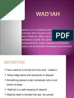 chpt WADIAH
