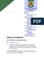 Istoria românilor crisped
