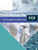 Performance of Galvanized Steel Products 1