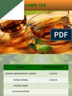 Dawn Tea (Brand Extension)