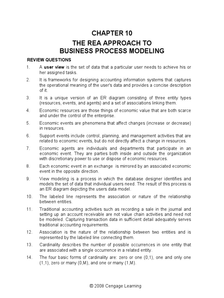 Chapter 10 the rea approach to business process modeling databases chapter 10 the rea approach to business process modeling databases inventory ccuart Choice Image